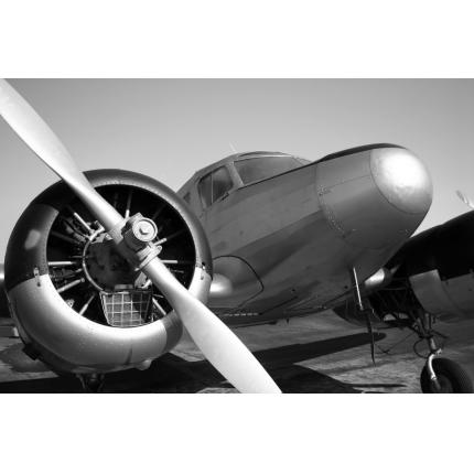Fotomurali Black & White - Aeroplano