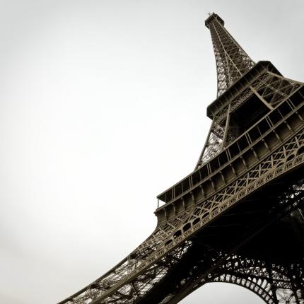 Fotomurali Black & White - Torre Eiffel