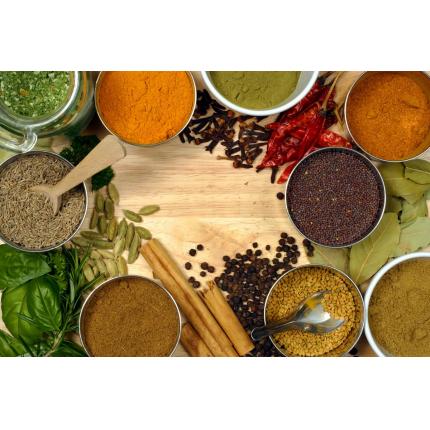 Spezie in cucina