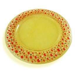 Stille- sottopiatto giallo paglia