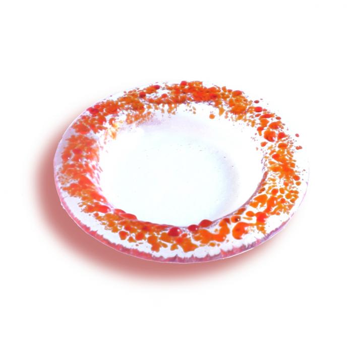Portacandela trasparente - serie lapilli