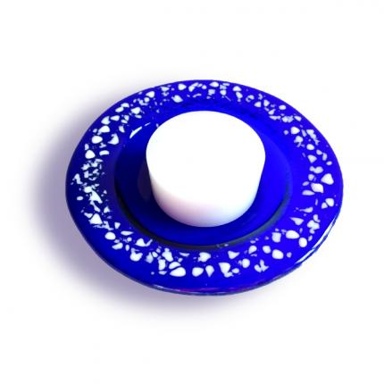 Portacandela blu - serie lapilli