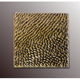 Bassorilievo decorativo dorato