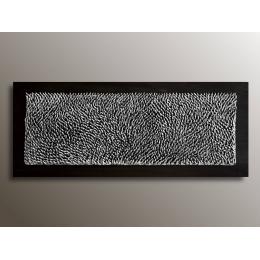 Pannello decorativo argentato