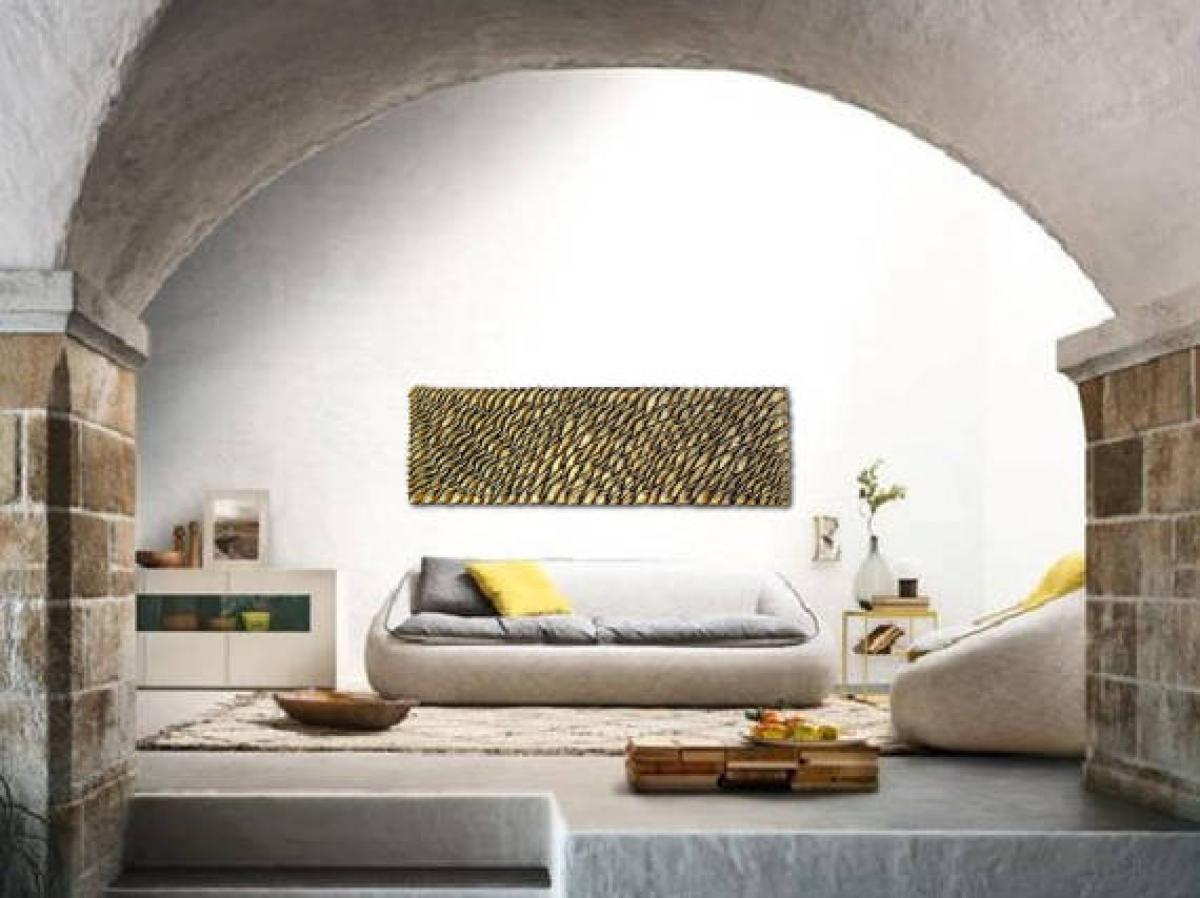 Quadri materici pannello bronzo livingdeco 39 - Pannello decorativo parete ...