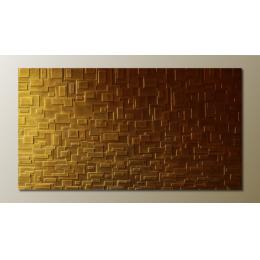 Pannello decorativo tridimensionale bronzo