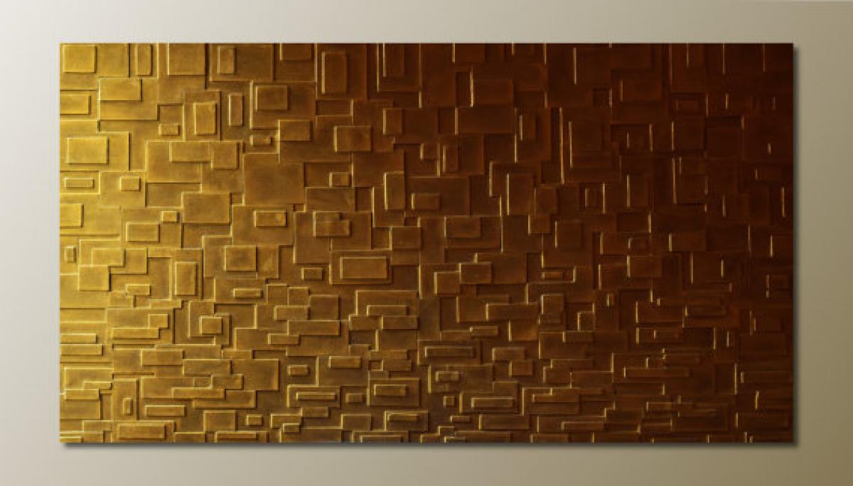 Quadri materici   Quadro bronzo   LivingDECO\'