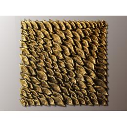 Pannello tridimensionale metallizzato