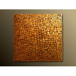 Scultura da parete Ducat gold