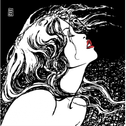 Stampa quadro su tela di Milo Manara - Red
