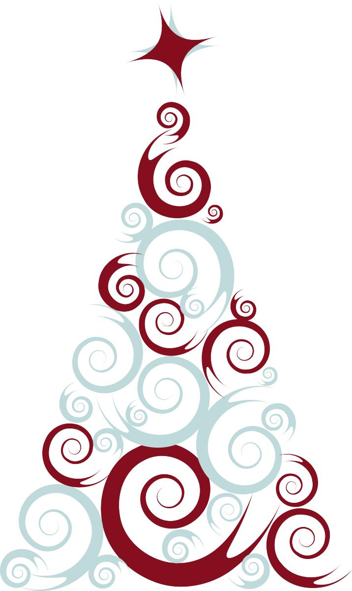 Stickers natalizio con albero natale livingdeco 39 - Albero di natale stampabili gratis ...
