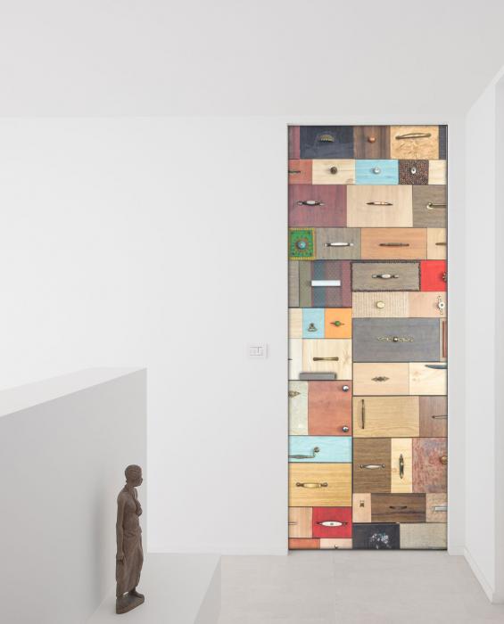 Adesivo per porte cassetti colorati livingdeco 39 - Adesivi decorativi per porte ...