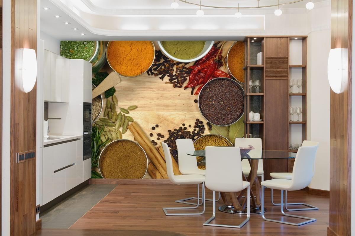 Foto murale di spezie in cucina livingdeco 39 - Spezie in cucina ...