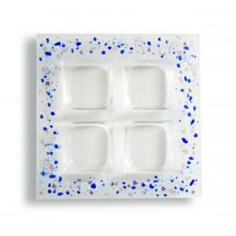 Porta aperitivi opalino - serie lapilli