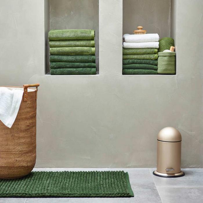 Asciugamano verde cedro - serie London