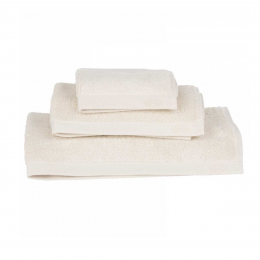 Botanic Deluxe - Asciugamano bianco crema
