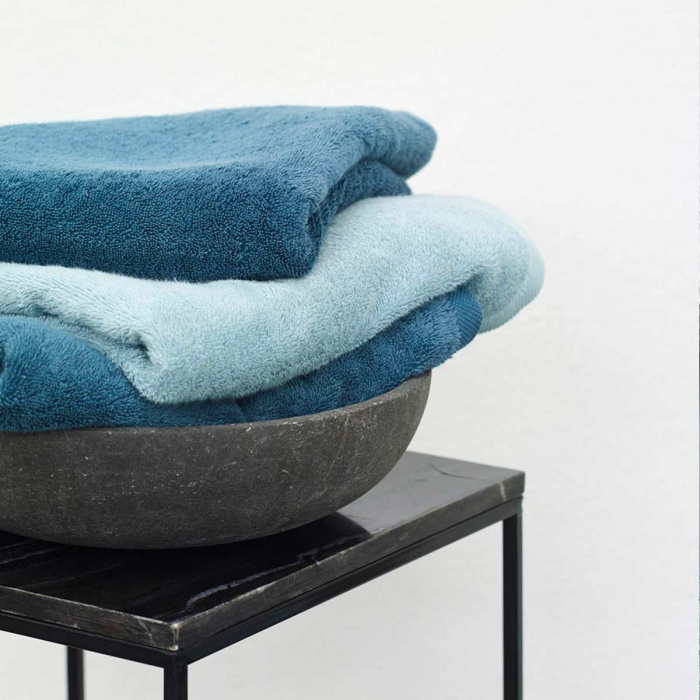 Asciugamano blu - serie London