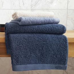 Botanic Deluxe - Asciugamano blu inchiostro