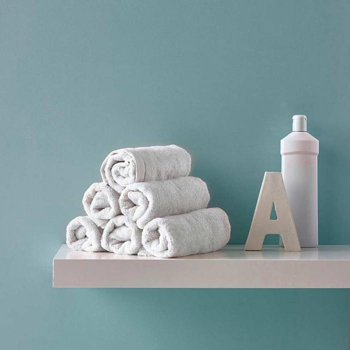 Asciugamano bianco - serie London
