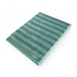 Homely - Asciugamano a righe verdi