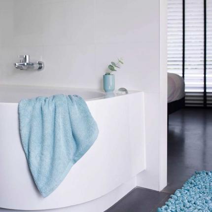 Morbidi asciugamani - Asciugamano azzurro - serie London