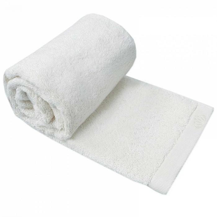 Botanic Deluxe - Asciugamano bianco