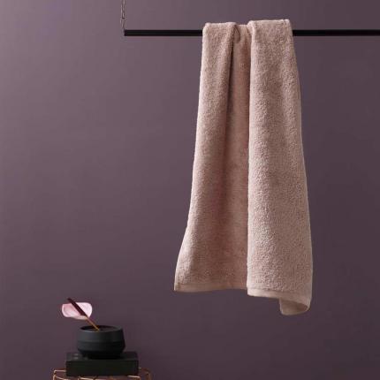 Morbidi asciugamani - Asciugamano rosa cipria - serie London
