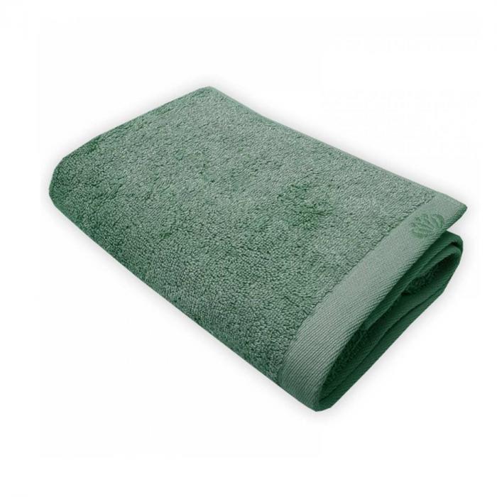 Botanic Deluxe - Asciugamano verde foresta