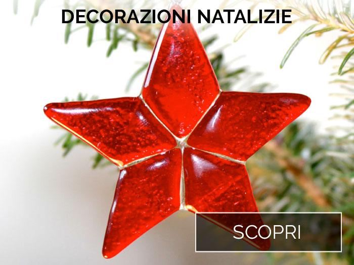 Scopri le decorazioni natalizie in vetro di Murano
