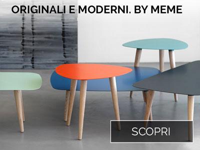 Scopri i tavolini di Meme Design