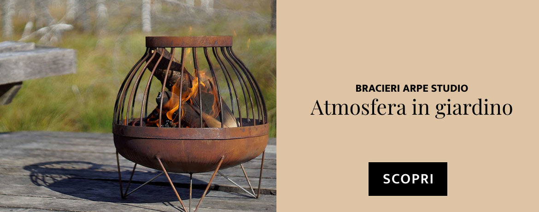 Atmosfera in giardino - scopri Arpe Studio
