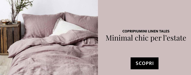 Minimal Chic estivo - scopri i copripiumini di Linen Tales