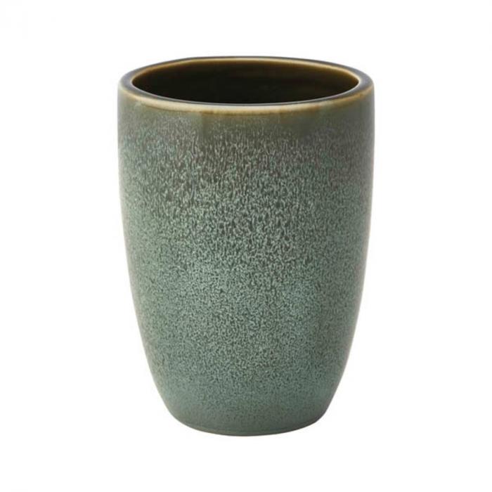 Ugo - Bicchiere porta spazzolini verde acqua