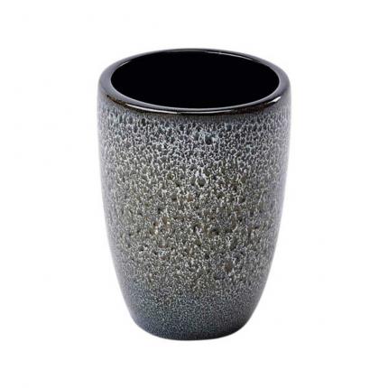 Ugo - Bicchiere porta spazzolini nero