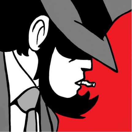 Stampa quadro su tela di Lupin - Jigen