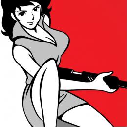 Margot con fucile