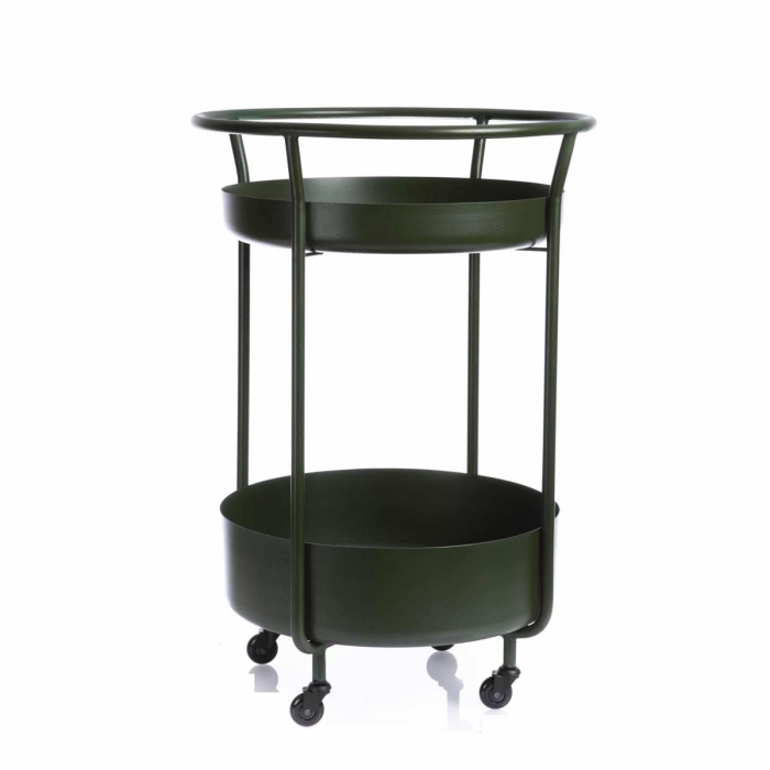 Corona - carrello bar verde
