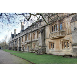 Facciata Magdalen College