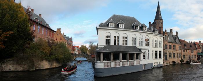 Panoramica di Bruges