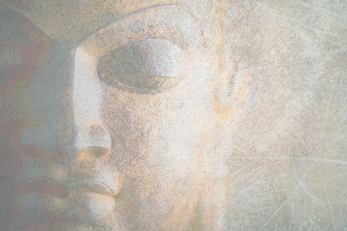 Carta da parati moderna gigantografia buddha livingdeco 39 for Carta da parati moderne foto
