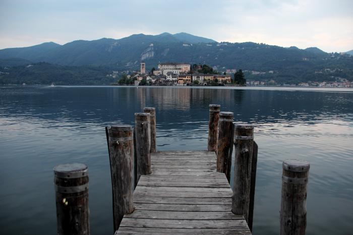 Molo Lago d'Orta