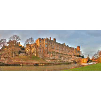 Panoramica Warwick Castle
