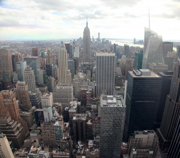New York Skyline dal Rockfeller Center
