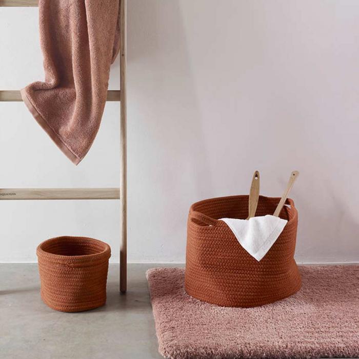 Rena rosso terracotta - Portaoggetti bagno