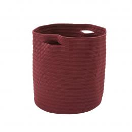 Ettore - portavasi in tessuto rosso porpora