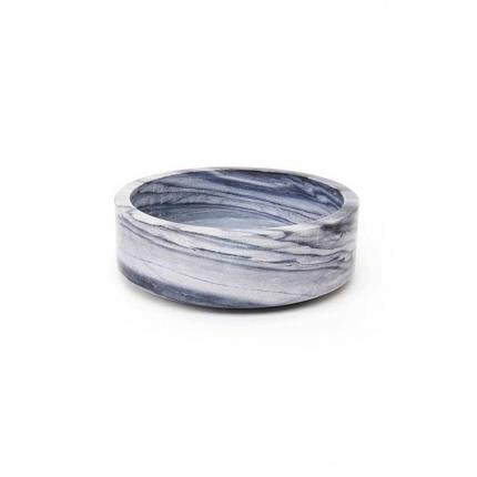 Forte large - ciotola in marmo grigio