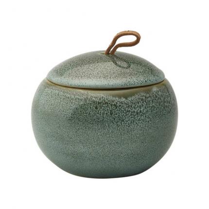 Ugo - Contenitore con coperchio verde acqua