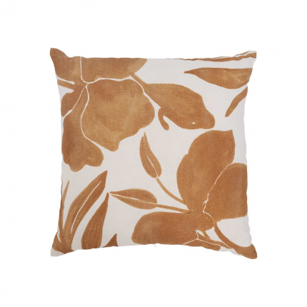 Flora - cuscino in cotone fantasia