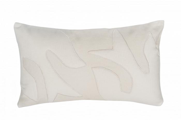 Escapism - cuscino in tela bianco jetstream