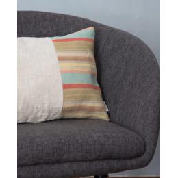Cuscino lino - Cuscino rettangolare a righe